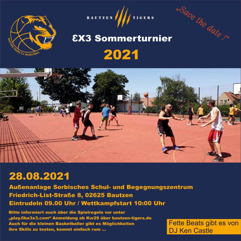 3x3 Basketball Bautzen Tigers Turnier